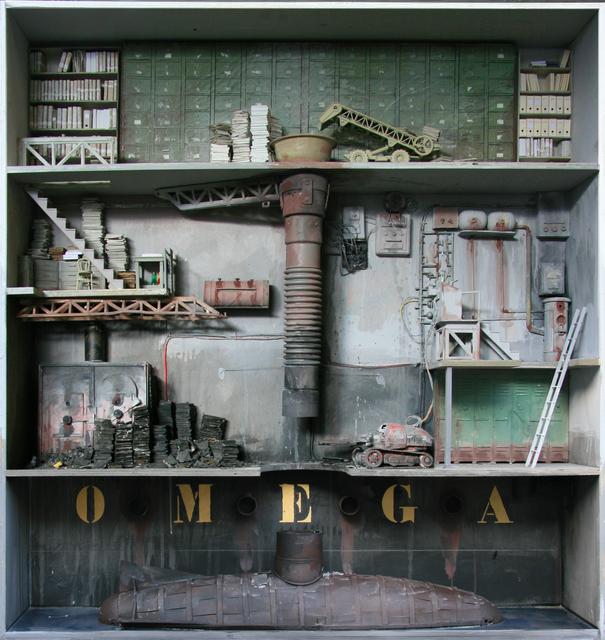 , 'Oméga,' 2011, Jonathan LeVine Projects