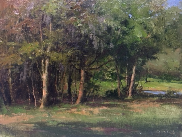 Donald W. Demers, 'Plantation Oaks', 2018, Helena Fox Fine Art
