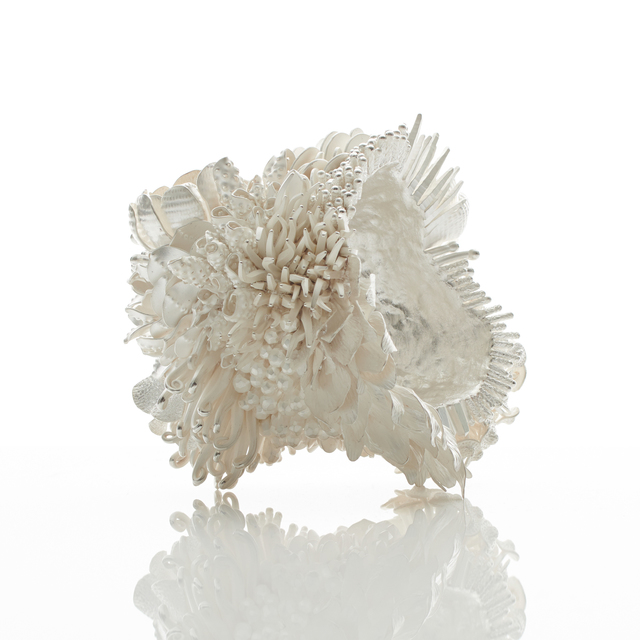 Junko Mori, 'Silver Poetry; Spring Fever / Haiku', 2019, Sculpture, Forged Fine silver 999, 1,745g, Adrian Sassoon