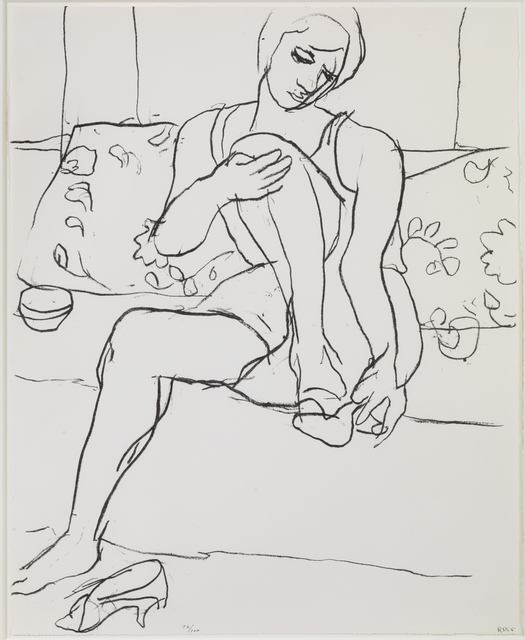 , 'Seated Woman on Sofa,' 1965, Susan Sheehan Gallery