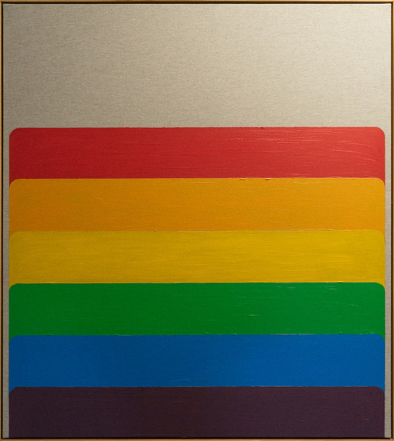 , 'Rainbow domino I,' 2019, Sebastian Fath Contemporary
