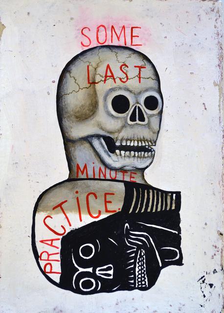 , 'Last Minute Practice,' 2017, George Billis Gallery