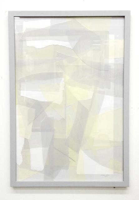 , 'Grauer Rahmen / Graues Bild #1,' 2013, Gestalten