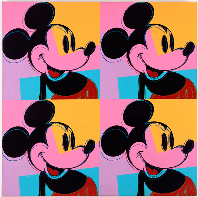 , 'Quadrant Mickey Mouse/Myths,' 1981, Galerie Sho Contemporary Art