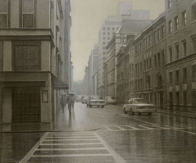 , 'A Misty Day Manhattan,' , LaMantia Fine Art Inc.