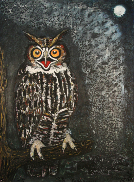 , 'Great Horned Owl,' , William Campbell Contemporary Art, Inc.