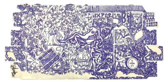 RODRIGO MABUNDA, 'Exposição 1834', 2018, Arte de Gema