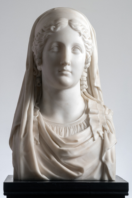 , 'HERM OF A VESTAL VIRGIN,' 1838, Brun Fine Art