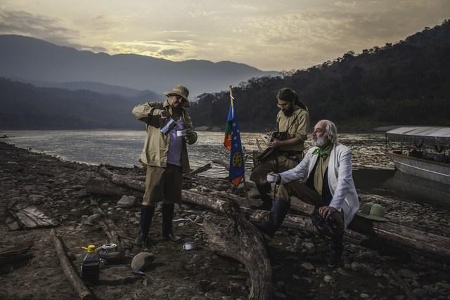 , 'la Chucha Perdida de los incas,' 2015-2016, Soft Focus Institute