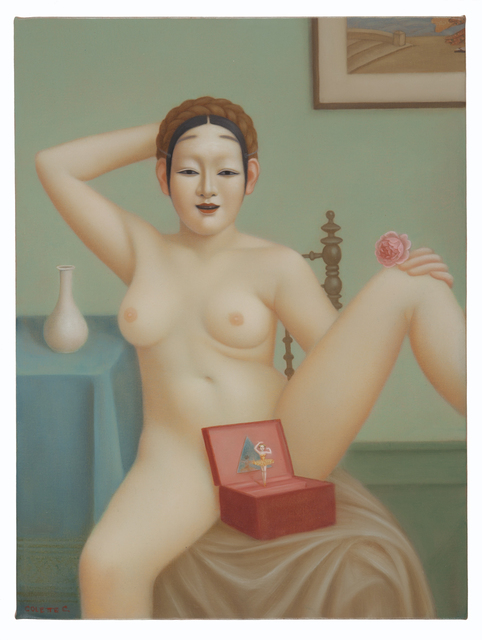 , 'Fetish,' 2013, Nancy Hoffman Gallery