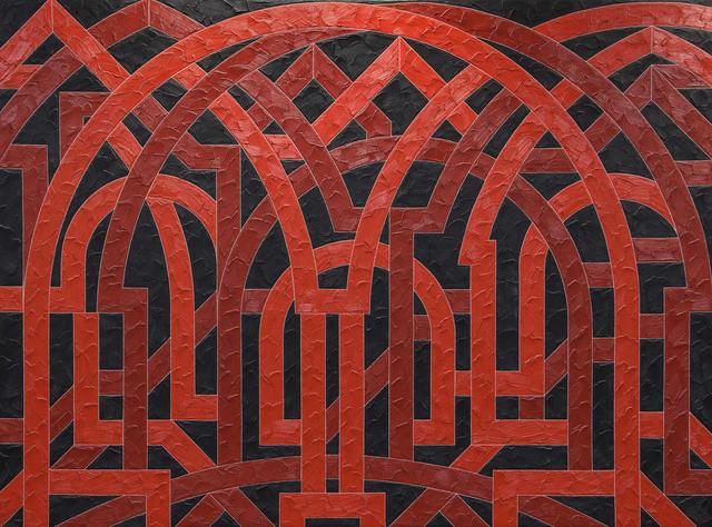Valerie Jaudon, 'Palmyra', 1982, Heather James Fine Art