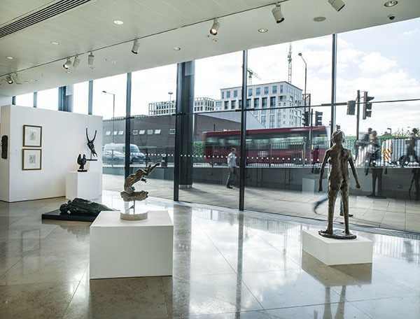 Ralph Brown & the Figure in the Fifties and Sixties installation view at Pangolin London, 2016