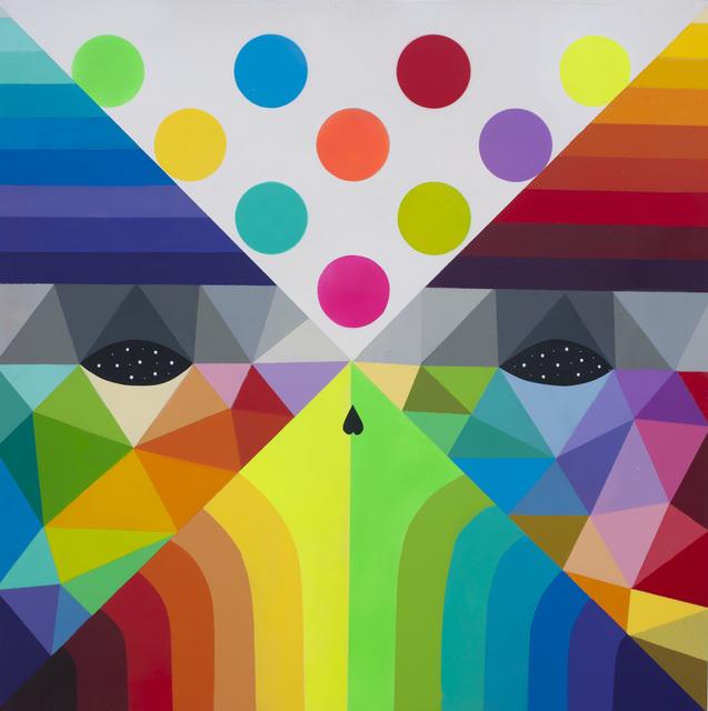 Okuda San Miguel, 'X Mask 18 (IX)', 2018, MAGMA gallery