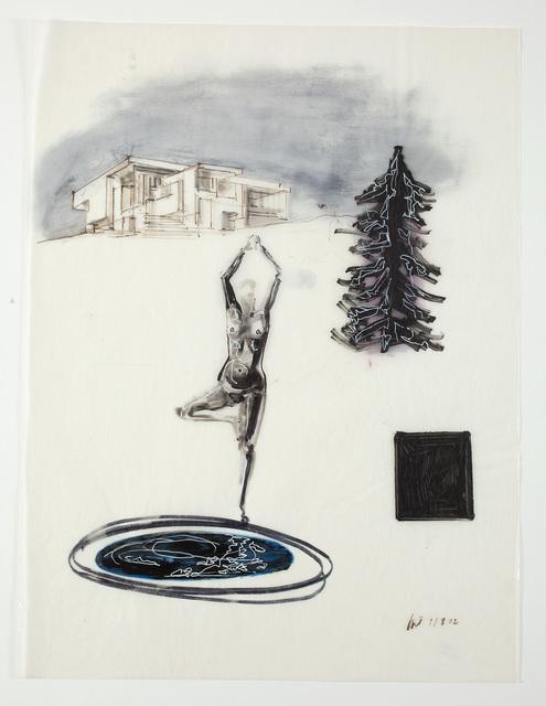 , 'Arkitekten betrakter sin kropp,' 2002, Willas Contemporary