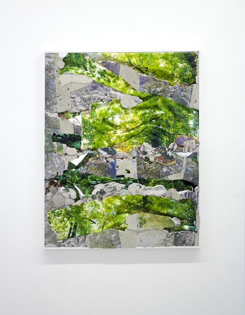 , 'Dijon Kauai Concrete Bend,' 2016, Galerie Christophe Gaillard