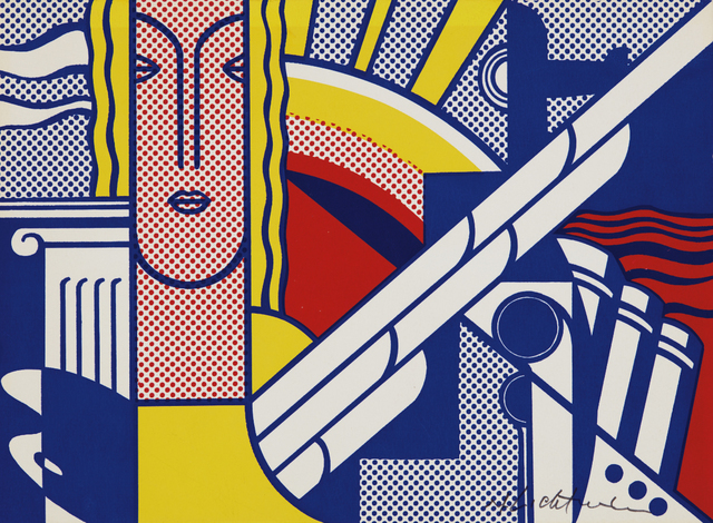 Roy Lichtenstein, 'Modern Art Poster', 1967, Print, Screenprint in colors, on smooth, ivory wove paper, the full sheet, Phillips