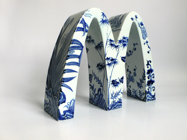 , 'McDonald's - Four Gentlemen (Plum, Iris, Bamboo and Chrysanthemum),' 2007, Hollis Taggart Galleries