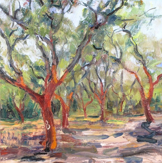 Marshall Crossman, 'Cork Tree #4', 2008, Julie Nester Gallery