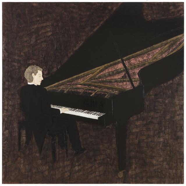 , 'Piano-player ,' 2018, Galerie Forsblom