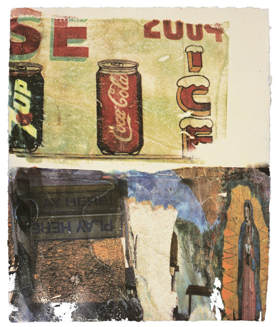 Robert Rauschenberg, 'L.A. Uncovered #3', 1998, Gemini G.E.L.