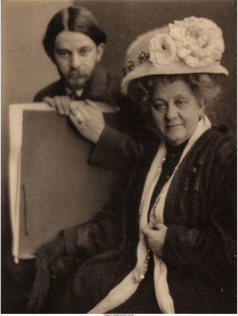 Clarence H. White, 'Alvin Langdon Coburn and His Mother', 1910, Heritage Auctions