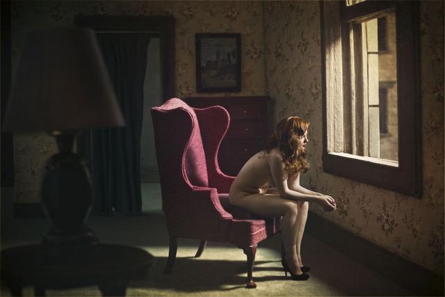 Richard Tuschman, 'Woman at Window ', 2013, Photography, Archival Pigment Ink Print, photo-eye Gallery