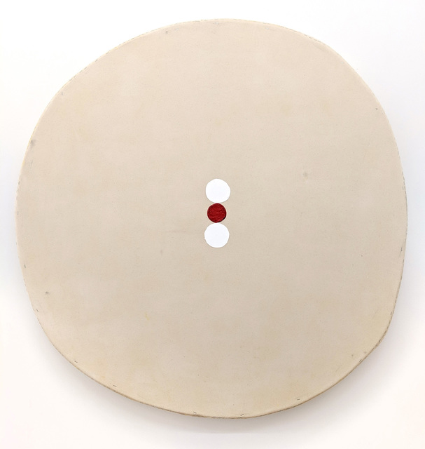 , 'Big Circle, Three Circles, One Red,' 2019, Marc Straus