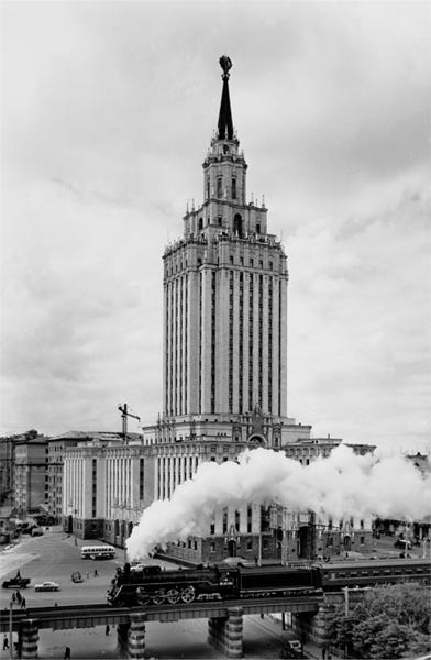 ", 'Hotel ""Leningradskaja"", Locomotive,' 1960, Lumiere Brothers Gallery"