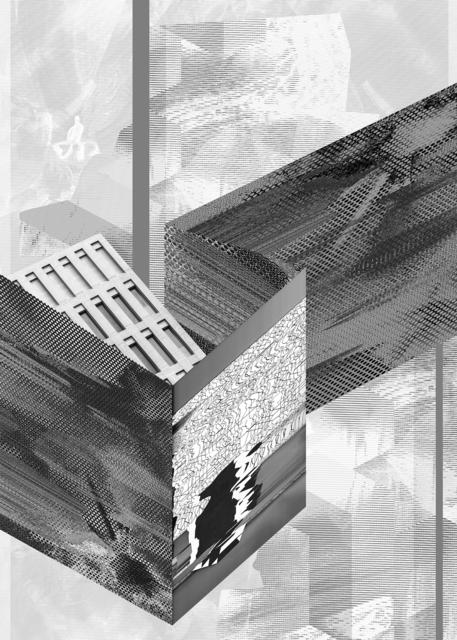 , ' Immaterial urban space I,' 2014, Propaganda
