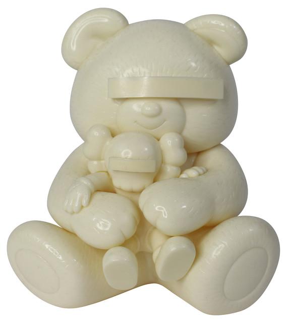 KAWS, 'Undercover Bear (White)', 2009, artrepublic