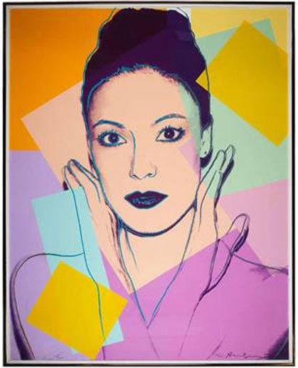 Andy Warhol, 'Karen Kain (F. & S. II.236)', 1980, Robin Rile Fine Art