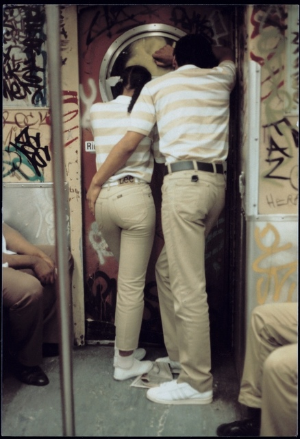 Jamel Shabazz, 'A Perfect match, NYC ', 1981, Photography, Chromogenic print, Galerie Bene Taschen