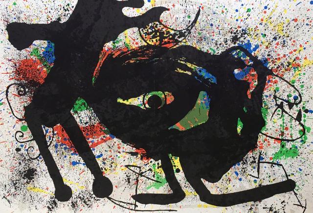 Joan Miró, 'Derrière Le Miroir', 1973, Print, Color lithograph, Hans den Hollander Prints