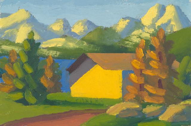 , 'Engadina I,' 2011, Galerie Andrea Caratsch