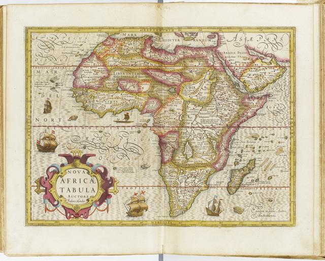 , '[Atlas] Gerardi Mercatoris Atlas Sive Cosmographiae Meditationes De Fabrica Mundi Et Fabricati Figura. Denuo auctus Editio Quarta Excusum Sub Cane Vigilante,' 1619, Librairie Amélie Sourget