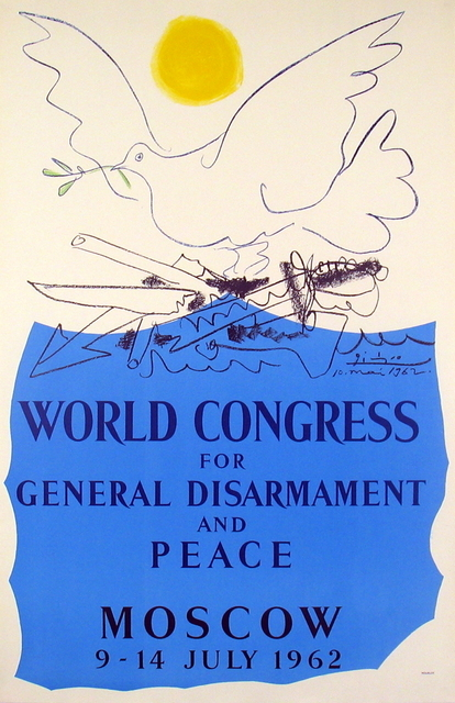 Pablo Picasso, 'World Congress for General Disarmament and Peace', 1962, ArtWise