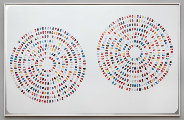 , 'PVA Composition (Circles, Provider Side),' 2016, Upstream Gallery