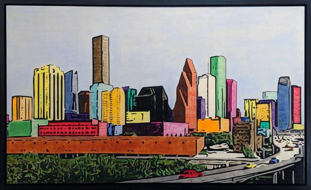 , 'H-Town Skyline 104,' 2019, Archway Gallery