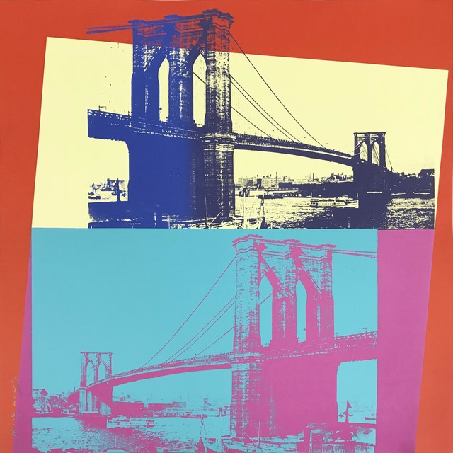 Andy Warhol, 'Brooklyn Bridge, II.290', 1983, Hamilton-Selway Gallery Auction