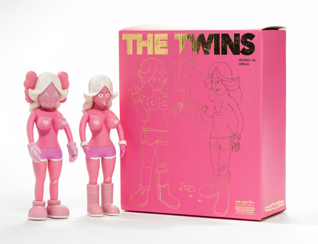 KAWS, 'The Twins (Pink) (two works)', 2006, Heritage Auctions