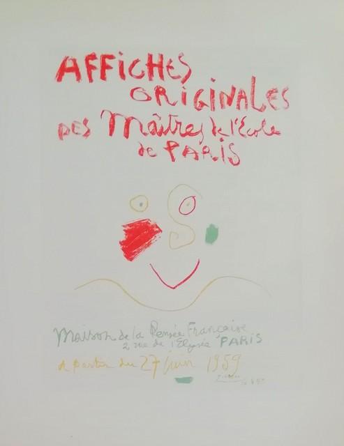 Pablo Picasso, 'Affiches Originales', 1959, Hidden