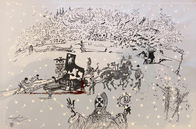 Salvador Dalí, 'Piano Under Snow', 1972, Galerie d'Orsay