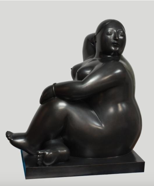 , 'Donna Seduta Che Guarda Di Finaco,' 2012, Rosenbaum Contemporary