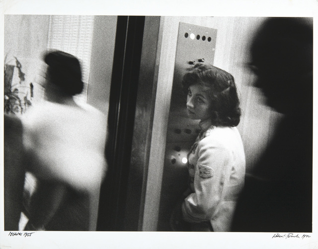 , 'Elevator, Miami Beach, Florida,' 1955, Etherton Gallery