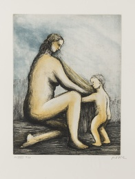 Mother and Child XXVIII (Cramer 698)