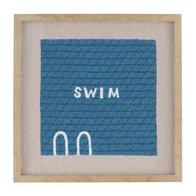 , 'Swim (6:29 a.m.),' 2018, Rebecca Hossack Art Gallery