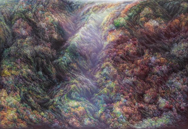 Jin-wook Yeom, 'Memory of mountain', 2019, Gallery LEE & BAE