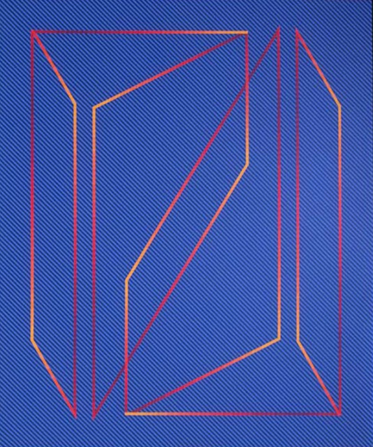 , 'Formed in Blue,' 1989, The Bonfoey Gallery
