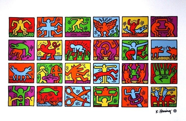 Keith Haring, 'Retrospect, 1989 (Authorized by the Estate of Keith Haring)', 1996, EHC Fine Art