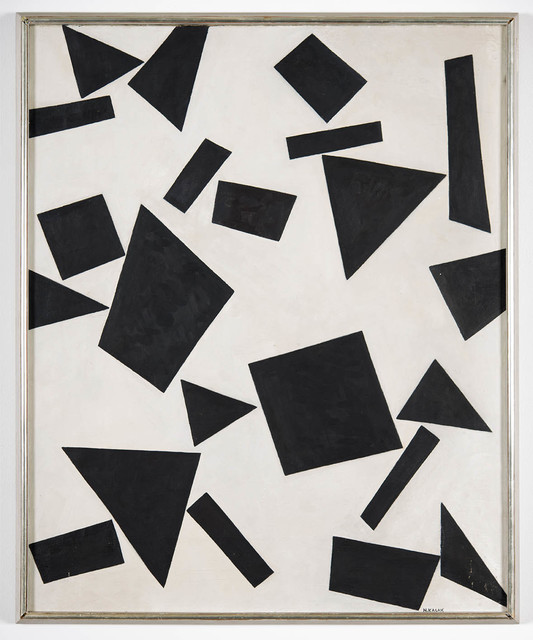 , 'Black Angular Forms,' 1944, Sammer Gallery LLC